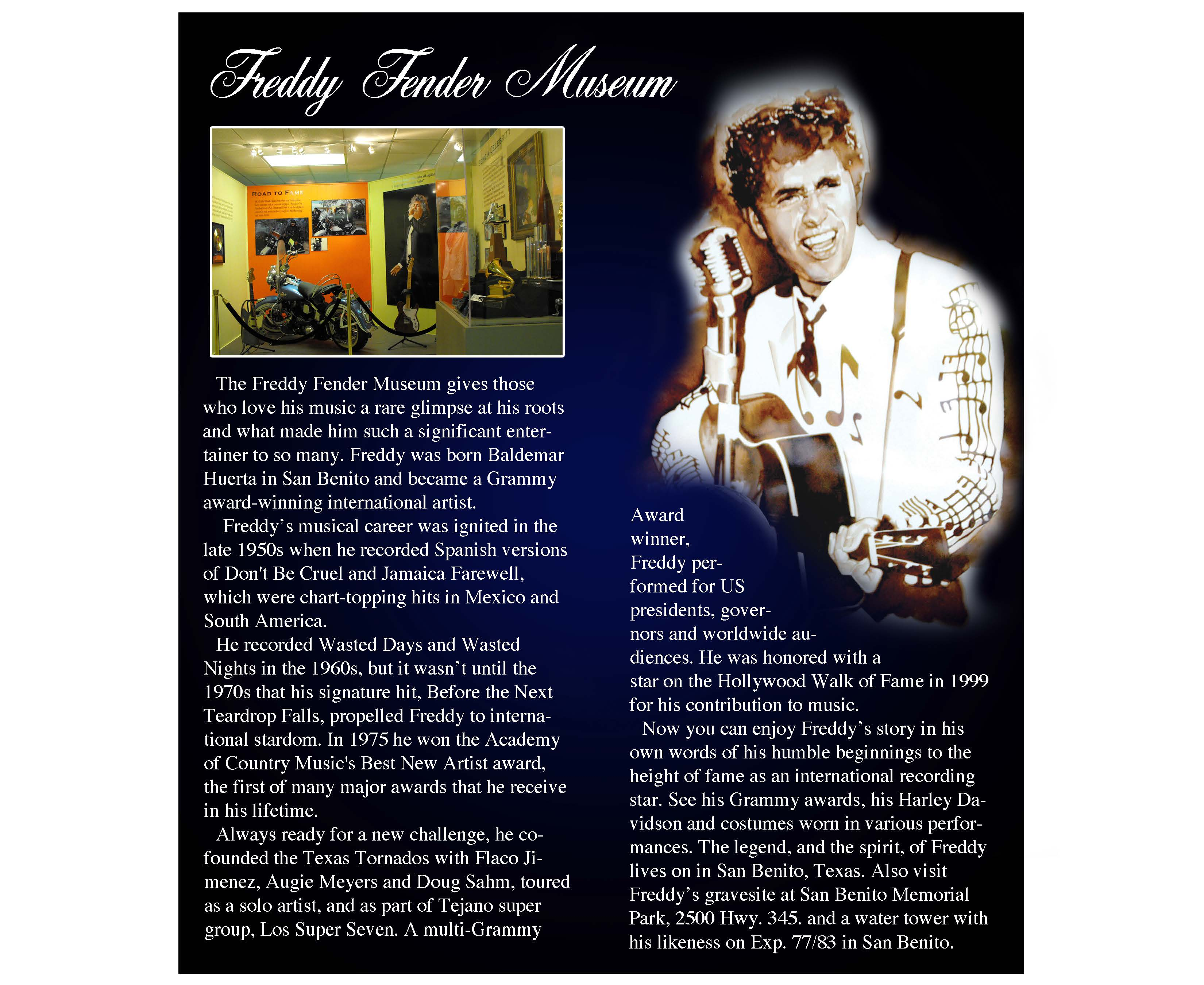 Freddy Fender inside